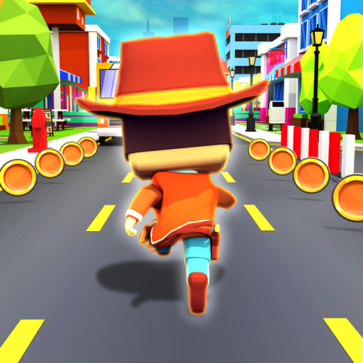 KIDDY RUN – Blocky 3D Running Games & Fun Games  (Unlimited money,Mod) for Android 1.04