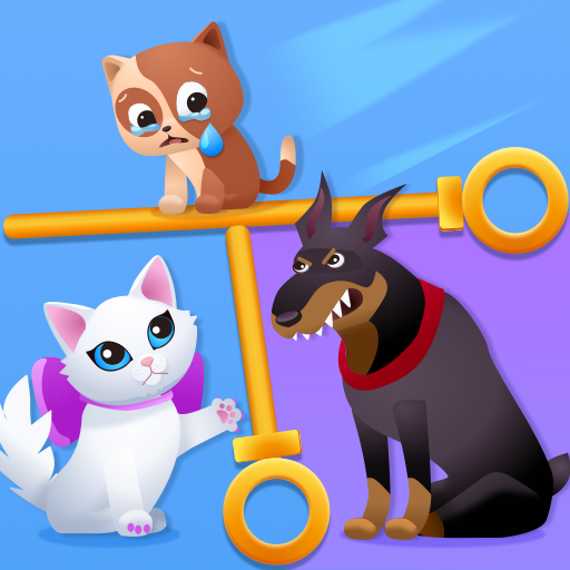 Kitten Rescue – Pin Pull  (Unlimited money,Mod) for Android 2.5