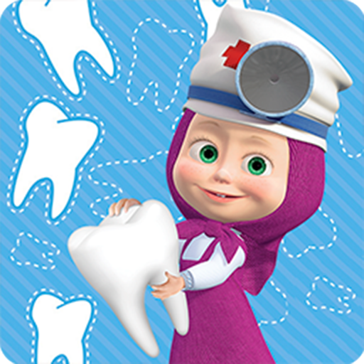 Masha and the Bear Free Dentist Games for Kids  1.3.6 (Unlimited money,Mod) for Android