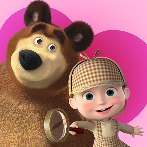 Masha and the Bear – Spot the differences  (Unlimited money,Mod) for Android 3.9