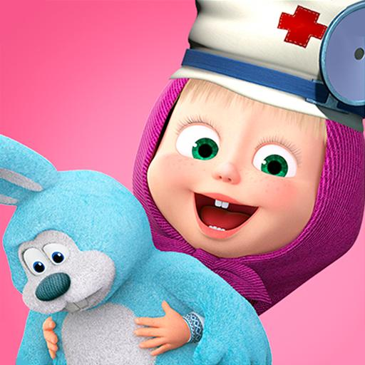 Masha and the Bear: Toy doctor  (Unlimited money,Mod) for Android 1.2.3