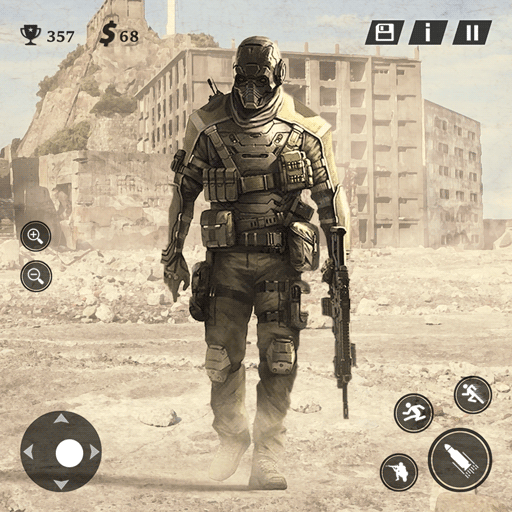 Modern Commando Ops Warfare: Free Shooting Games  (Unlimited money,Mod) for Android 1.1.2