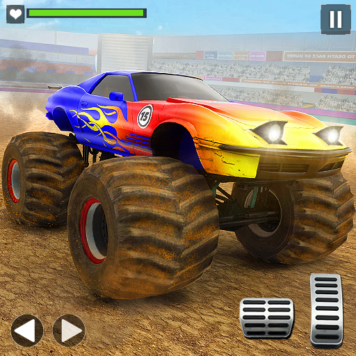 Monster Truck Derby Demolition Car Crash Stunts  (Unlimited money,Mod) for Android 2.6