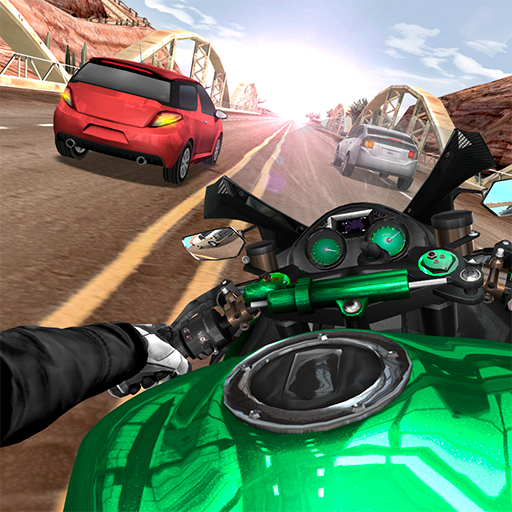 Moto Rider In Traffic  (Unlimited money,Mod) for Android 5.2.10