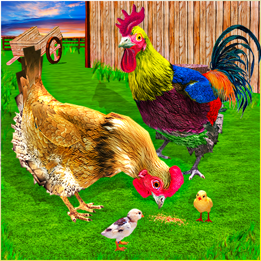 New Hen Family Simulator: Chicken Farming Games  (Unlimited money,Mod) for Android 1.11