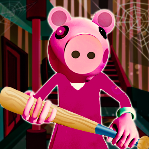 Piggy Family 3D: Scary Neighbor Obby House Escape  (Unlimited money,Mod) for Android 1.4