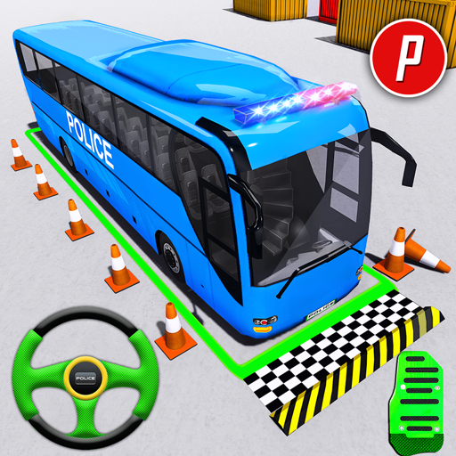 Police Bus Parking Game 3D – Police Bus Games 2019  (Unlimited money,Mod) for Android 1.0.17