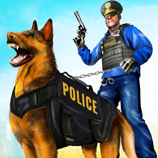 Police Dog Airport Crime Chase : Dog Games (Unlimited money,Mod) for Android 3.1