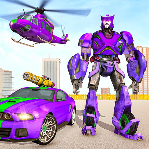 Police Robot Car Rampage: New robot shooting Games  (Unlimited money,Mod) for Android 1.10