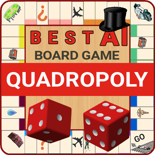 Quadropoly Best AI Board Business Trading Game  1.78.82 (Unlimited money,Mod) for Android