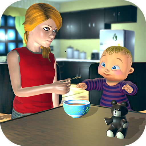 Real Mother Baby Games 3D: Virtual Family Sim 2019  (Unlimited money,Mod) for Android 1.0.6
