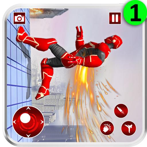 Real Robot Speed Hero  (Unlimited money,Mod) for Android 1.122
