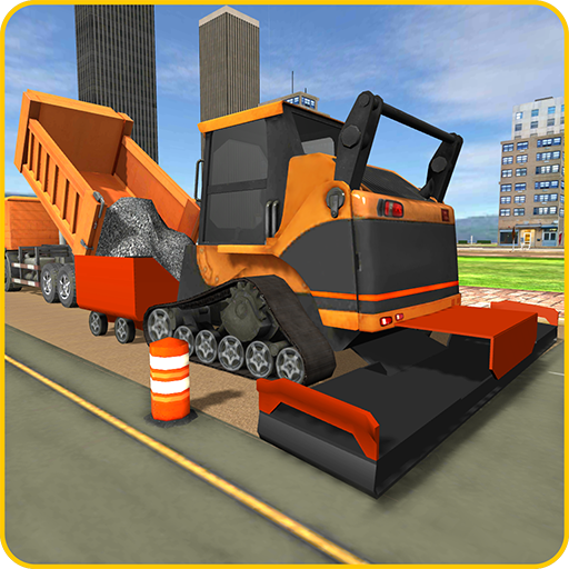 Road Builder City Construction  (Unlimited money,Mod) for Android 1.9