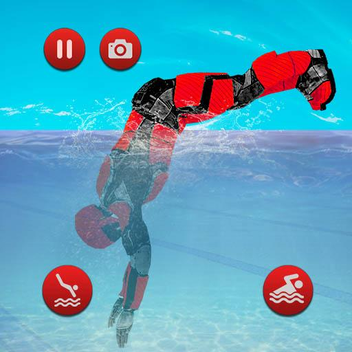 Robot Water Slide  (Unlimited money,Mod) for Android 1.13