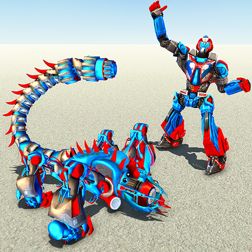Scorpion Robot Transforming – Robot shooting games  1.11 (Unlimited money,Mod) for Android