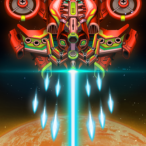 Sky Raptor Space Shooter – Alien Galaxy Attack  1.3.4 (Unlimited money,Mod) for Android
