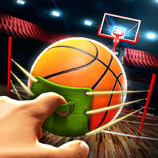 Slingshot Basketball!  1.1.1 (Unlimited money,Mod) for Android