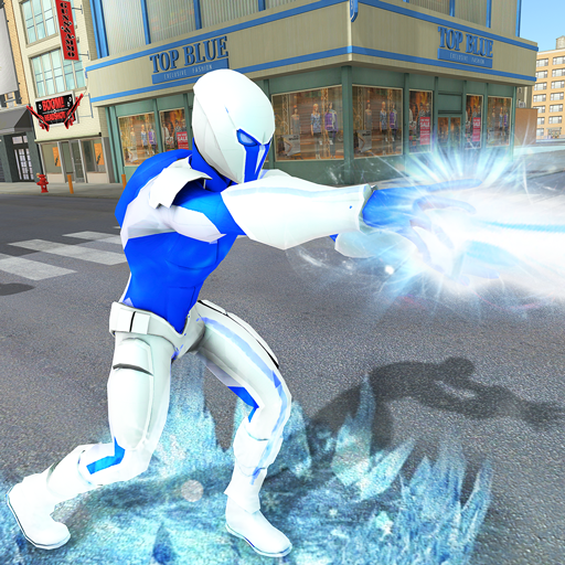 Snow Storm Super Human: Flying Ice Superhero War  (Unlimited money,Mod) for Android 1.0.5