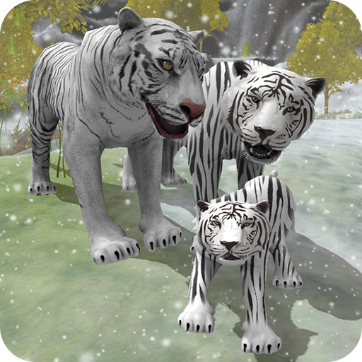 Snow Tiger Family  (Unlimited money,Mod) for Android 1.7