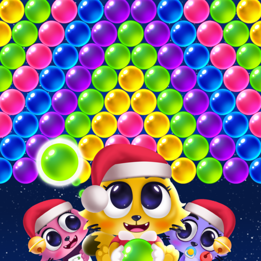 Space Cats Pop – Kitty Bubble Pop Games  (Unlimited money,Mod) for Android 2.6