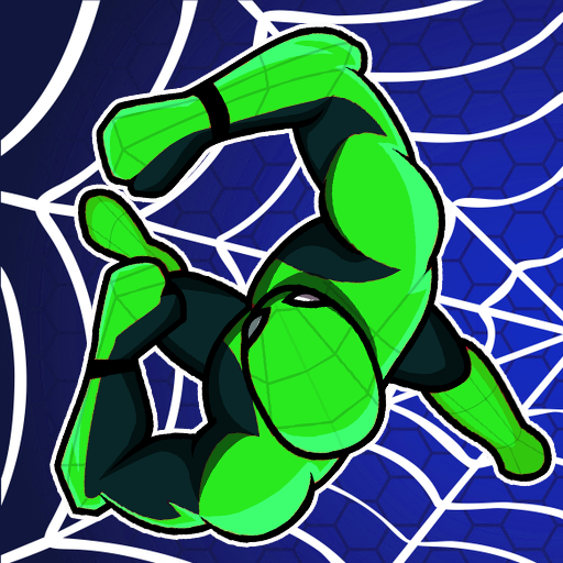 Spider Rope Hero: Superhero Assassin Hunter City  (Unlimited money,Mod) for Android 1.55