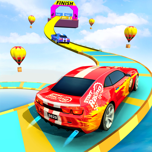 Sports Car Crazy Stunts 2020- Mega Ramp Car Games  (Unlimited money,Mod) for Android 4.3