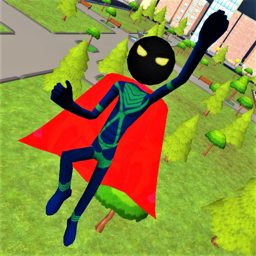 Stickman Superhero  1.4.8 (Unlimited money,Mod) for Android