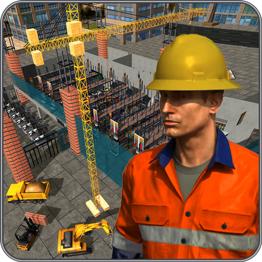 Supermarket Construction Games:Crane operator  (Unlimited money,Mod) for Android 1.6.0