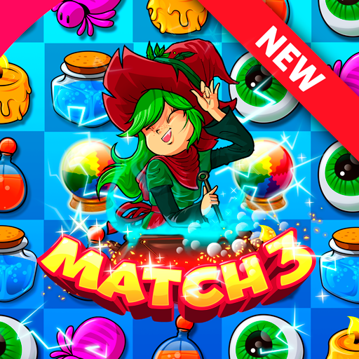 The Apprentice Witch – Puzzle Match 3 Game  (Unlimited money,Mod) for Android 3