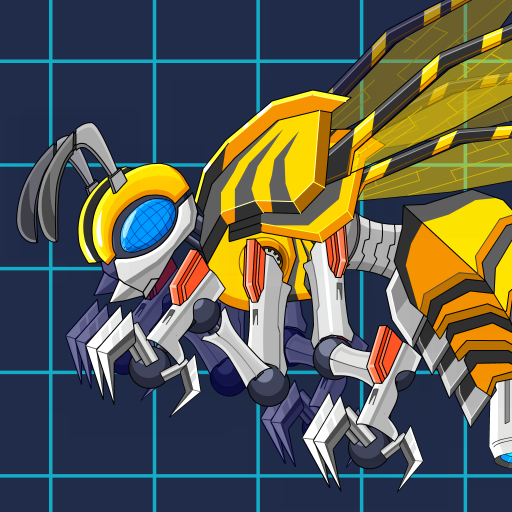 Toy Jurassic Robot Bee (Unlimited money,Mod) for Android 2.5
