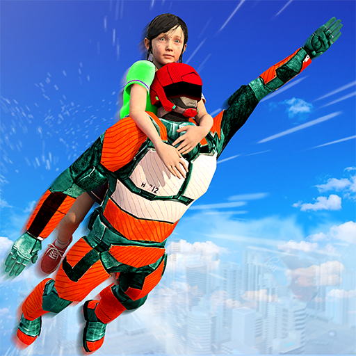 US Light Robot  Speed Hero :City Rescue Mission  (Unlimited money,Mod) for Android 1.0.21