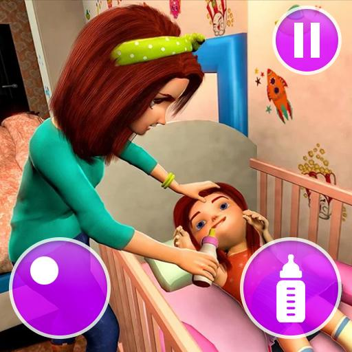 Virtual Mother Game: Family Mom Simulator  1.34 (Unlimited money,Mod) for Android