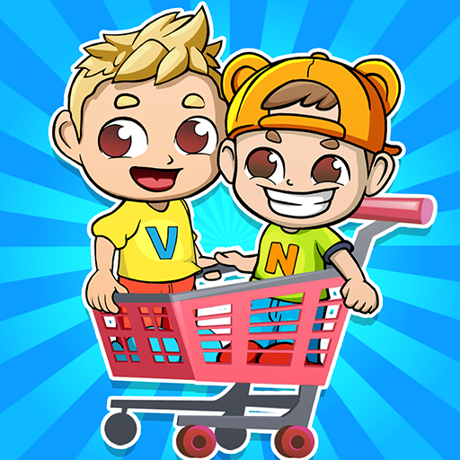 Vlad & Niki Supermarket game for Kids  (Unlimited money,Mod) for Android 1.0.6