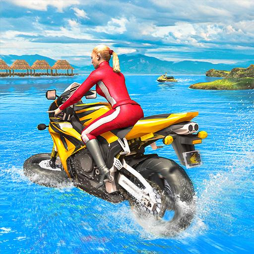 Water Surfer Racing In Moto  (Unlimited money,Mod) for Android 1.7