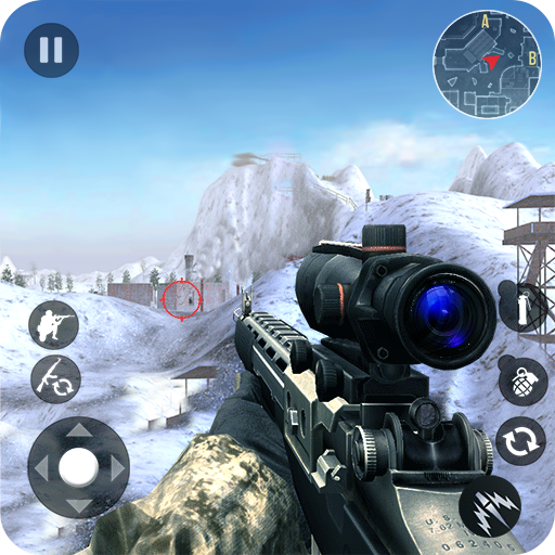 Winter Mountain Sniper – Modern Shooter Combat  (Unlimited money,Mod) for Android 1.2.8