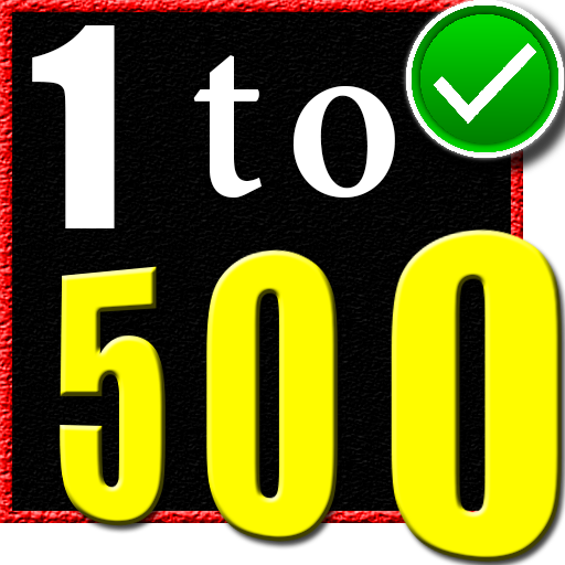 1 to 500 number counting game (Unlimited money,Mod) for Android 6.5