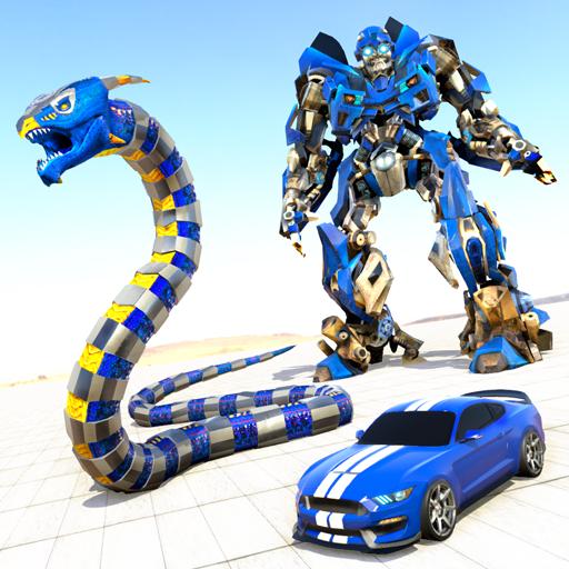 Anaconda Robot Car Games: Mega Robot Games  2.0 (Unlimited money,Mod) for Android