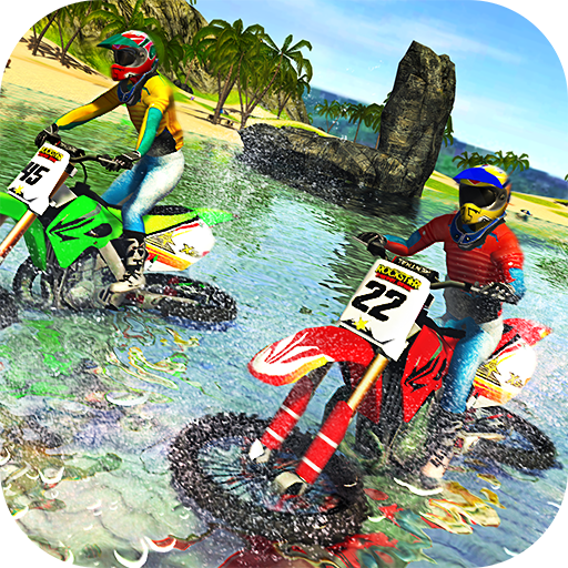 Beach Water Surfer Bike Racing 1.2  (Unlimited money,Mod) for Android