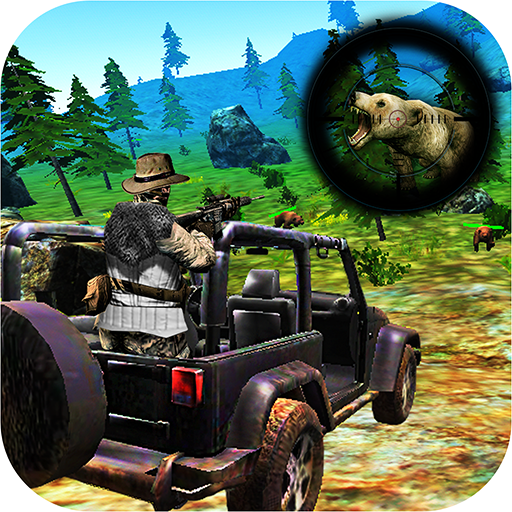 Bear Hunting on Wheels 4×4 – FPS Shooting Game 18  (Unlimited money,Mod) for Android 1.6