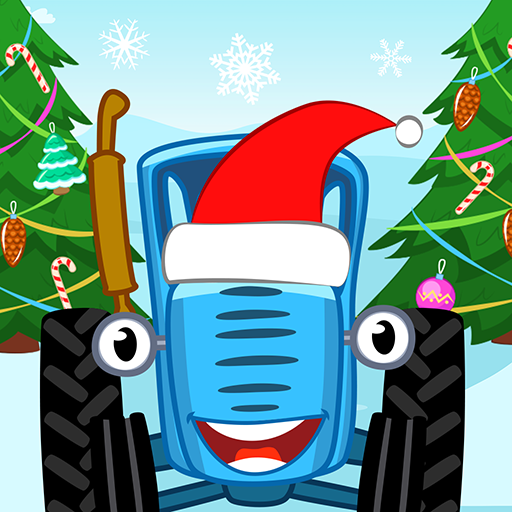 Blue Tractor Games for Toddlers 2 or 3 years old!  (Unlimited money,Mod) for Android 1.1.2