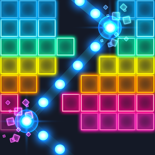 Brick Breaker: Neon-filled hip hop!  (Unlimited money,Mod) for Android 1.0.21
