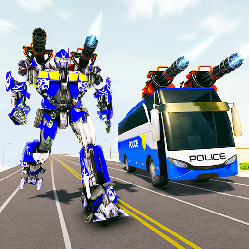 Bus Robot Car Transform War– Spaceship Robot game  6.0 (Unlimited money,Mod) for Android