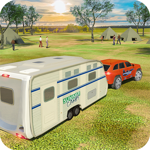 Camper Van Truck Simulator: Cruiser Car Trailer 3D  (Unlimited money,Mod) for Android 1.13