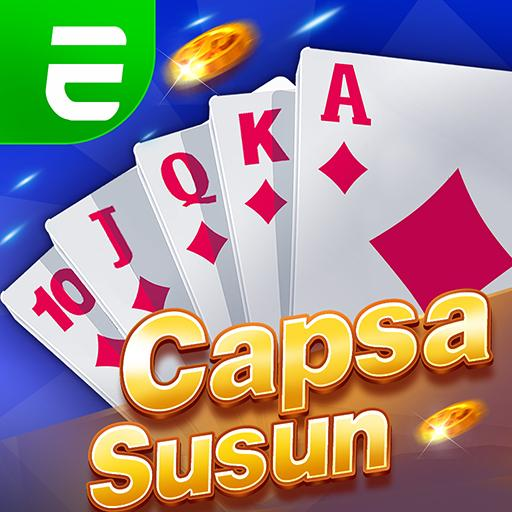 Capsa susun poker bonus  remi  gaple domino online 1.4.5 (Unlimited money,Mod) for Android