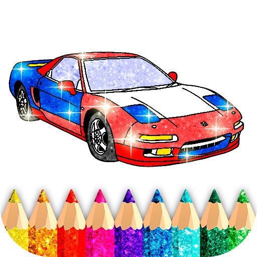 Car Coloring Game offline🚗  1.7 (Unlimited money,Mod) for Android