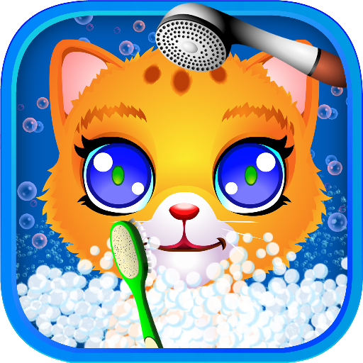 Cat Pet Wash  (Unlimited money,Mod) for Android 2.4