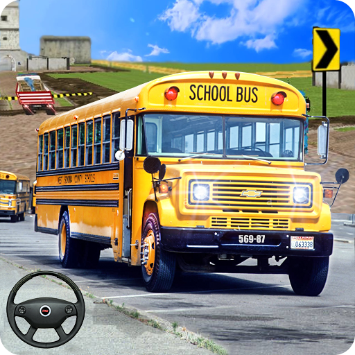 City School Bus Game 3D 1.7 (Unlimited money,Mod) for Android