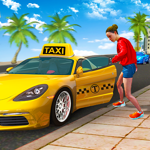 City Taxi Driving Sim 2020: Free Cab Driver Games  1.0.9 (Unlimited money,Mod) for Android