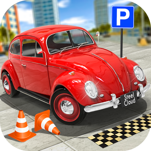 Classic Car Parking Real Driving Test  (Unlimited money,Mod) for Android 1.7.9
