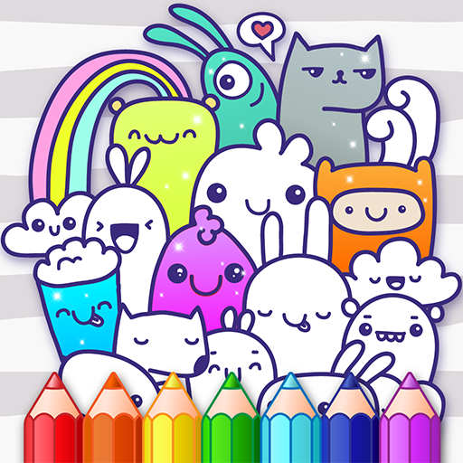 Doodle Coloring Book  (Unlimited money,Mod) for Android 1.2